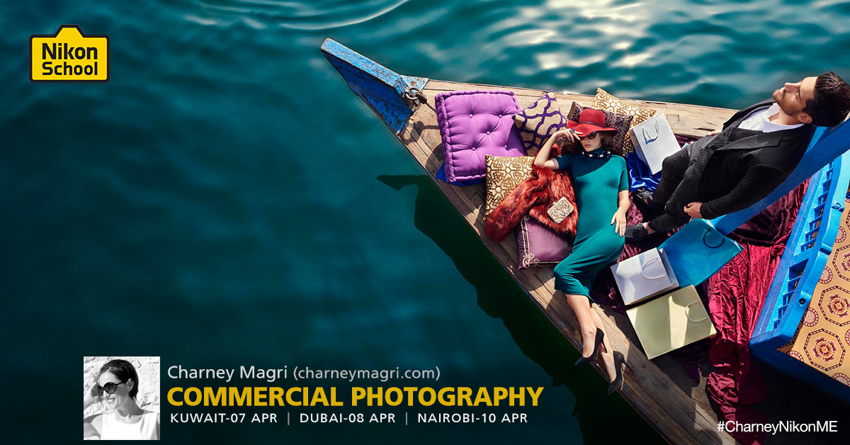 Charney Magri Commercial Photographer Nikon Workshop